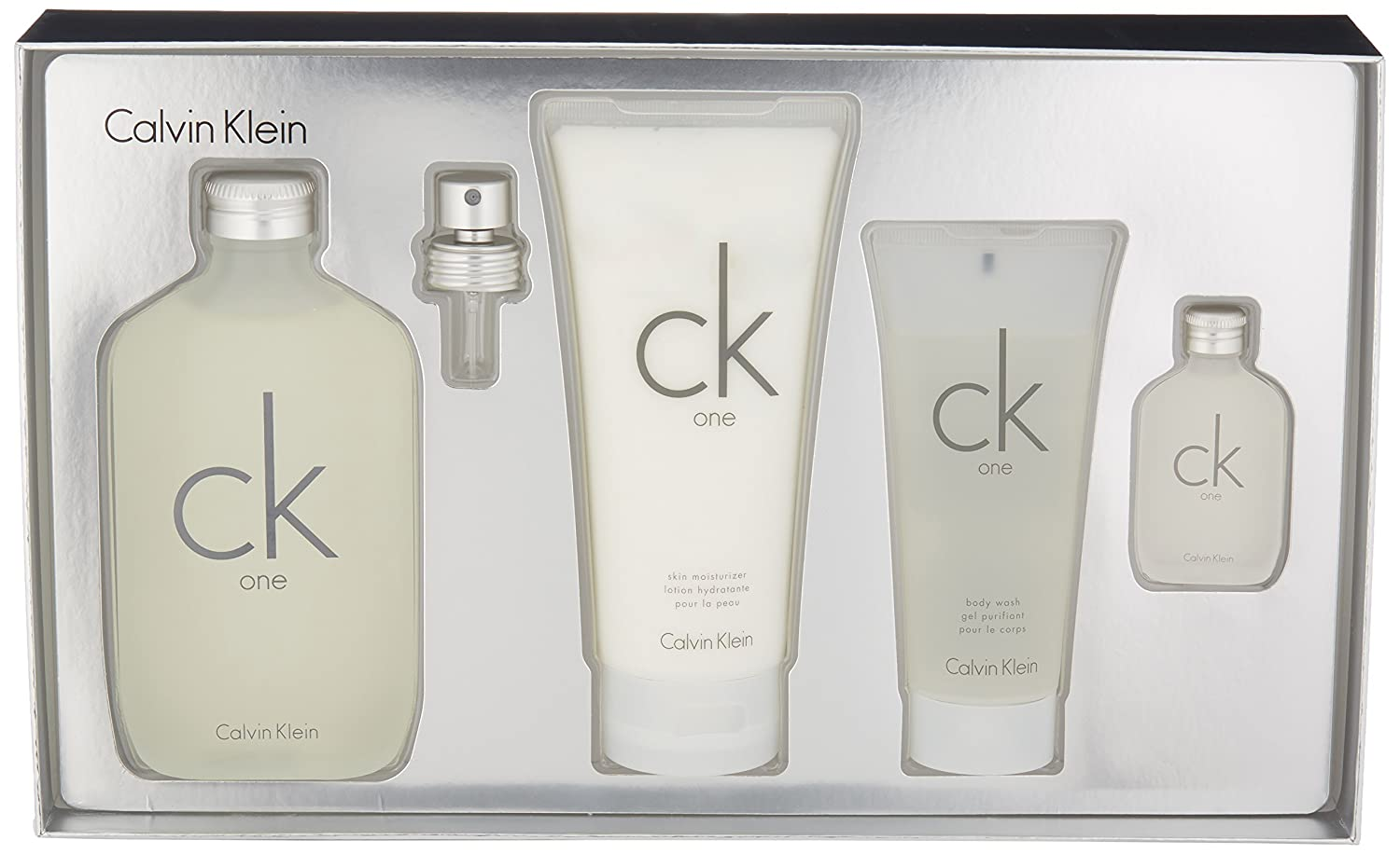 Amazon.com  Calvin Klein 4 Piece CK One Holiday Gift Set  Luxury Beauty 49b034ff08