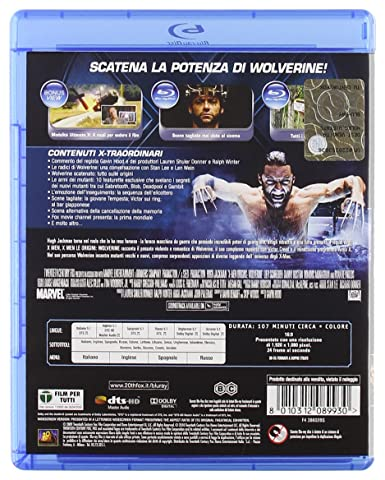 X-men le origini - Wolverine [Italia] [Blu-ray]: Amazon.es: vari, vari, vari: Cine y Series TV