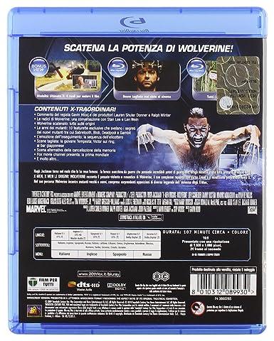 X-men le origini - Wolverine [Italia] [Blu-ray]: Amazon.es: vari, vari, vari: Cine y Series TV