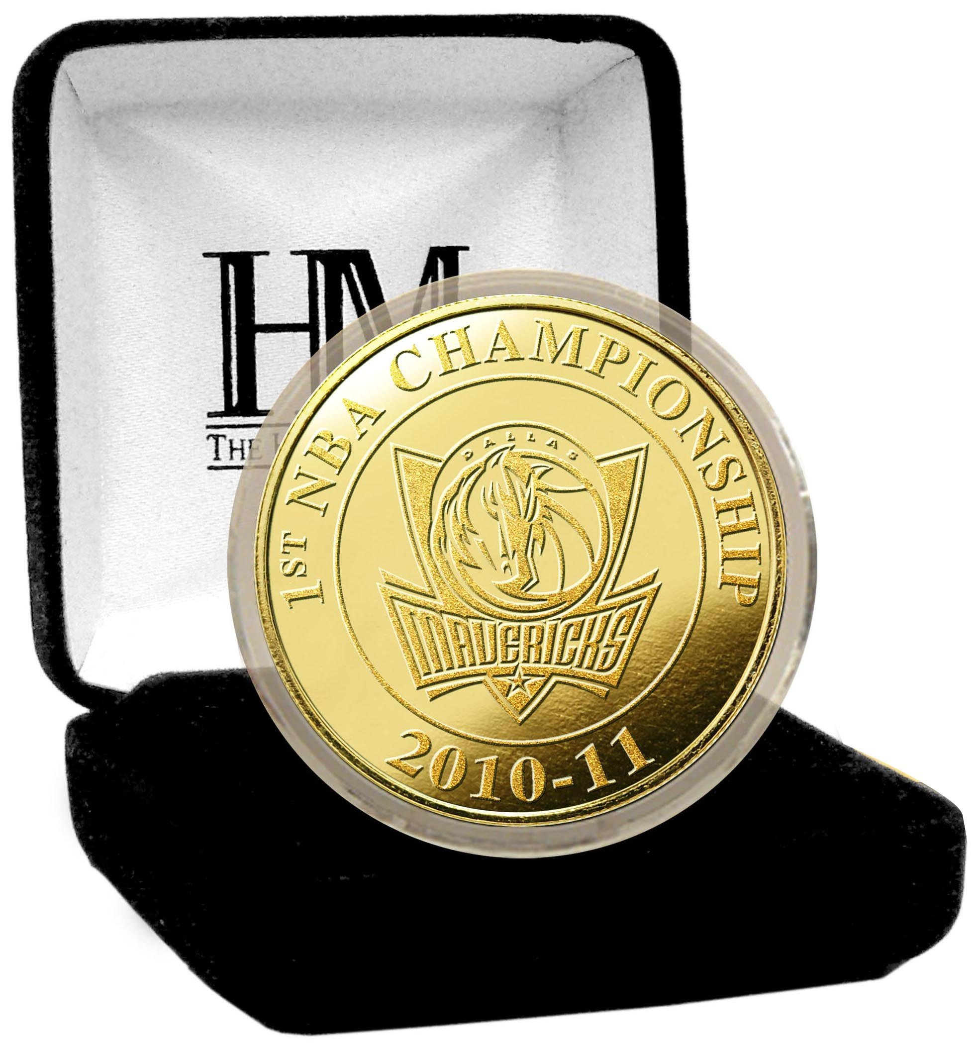 The Highland Mint NBA 2011 Champions 24KT Gold Coin
