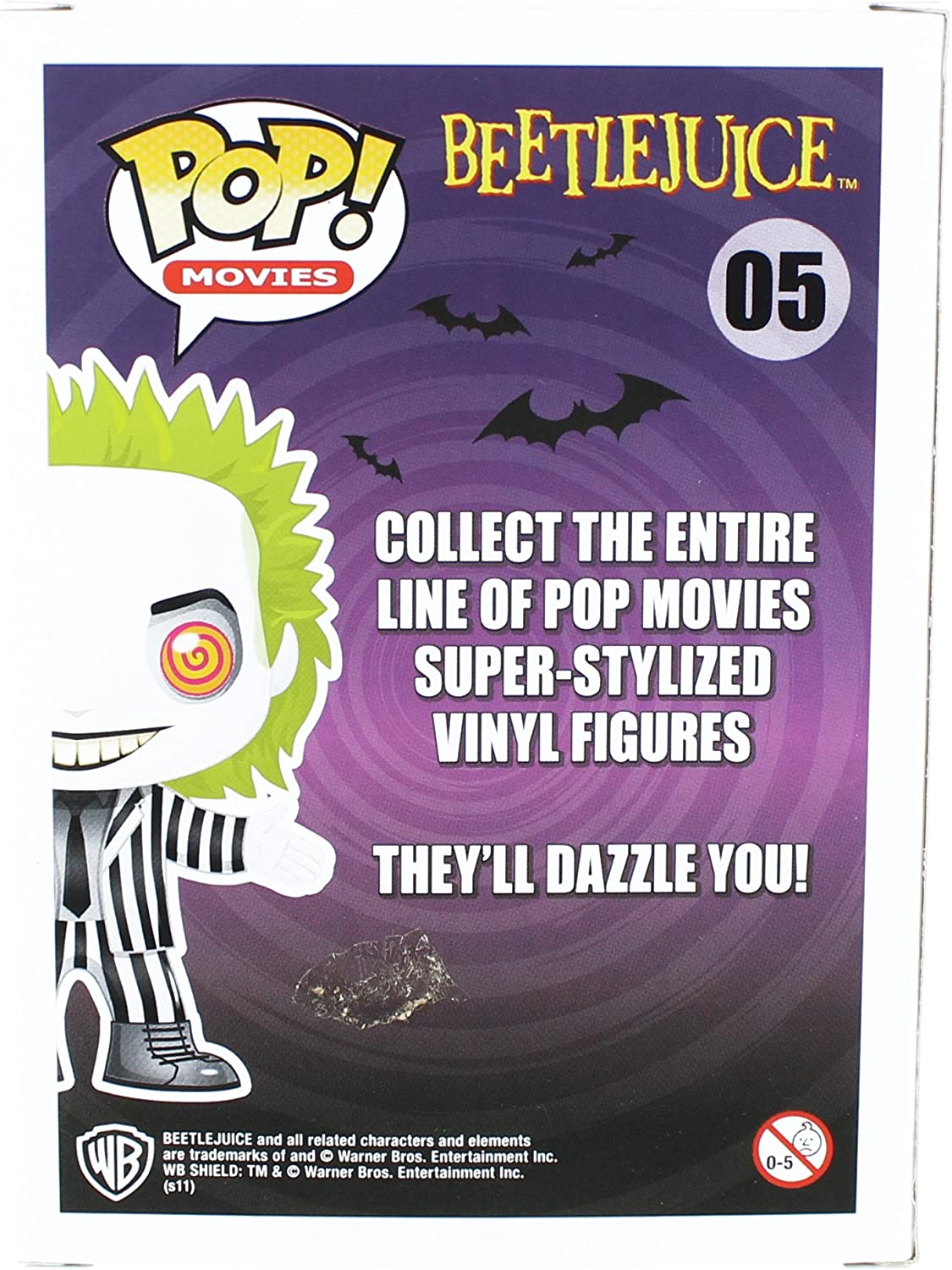 Pop Funko Beetlejuice Glow Limited Chase