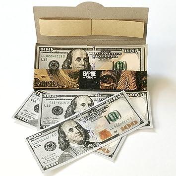 amazon com empire rolling 1 wallet of 100 bill premium rolling