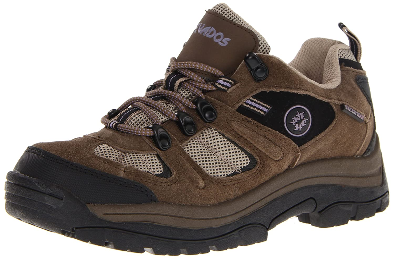 Nevados Women's Klondike Waterproof Low V4161W Hiking Boot B00995GFRY 9 W US|Dark Brown/Black/Taupe