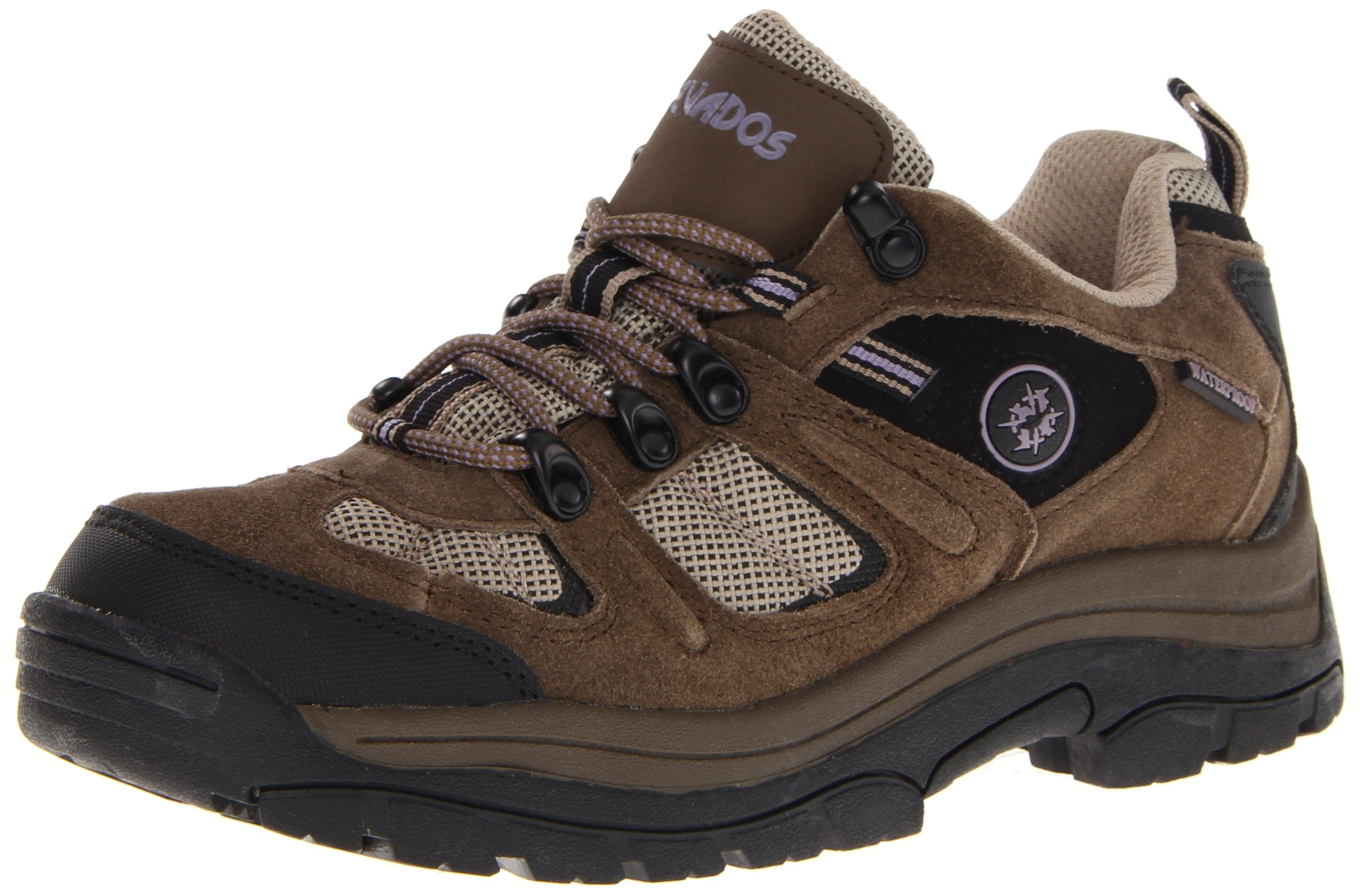 Nevados Women's Klondike Waterproof Low V4161W Hiking Boot,Dark Brown/Black/Taupe,9.5 M US