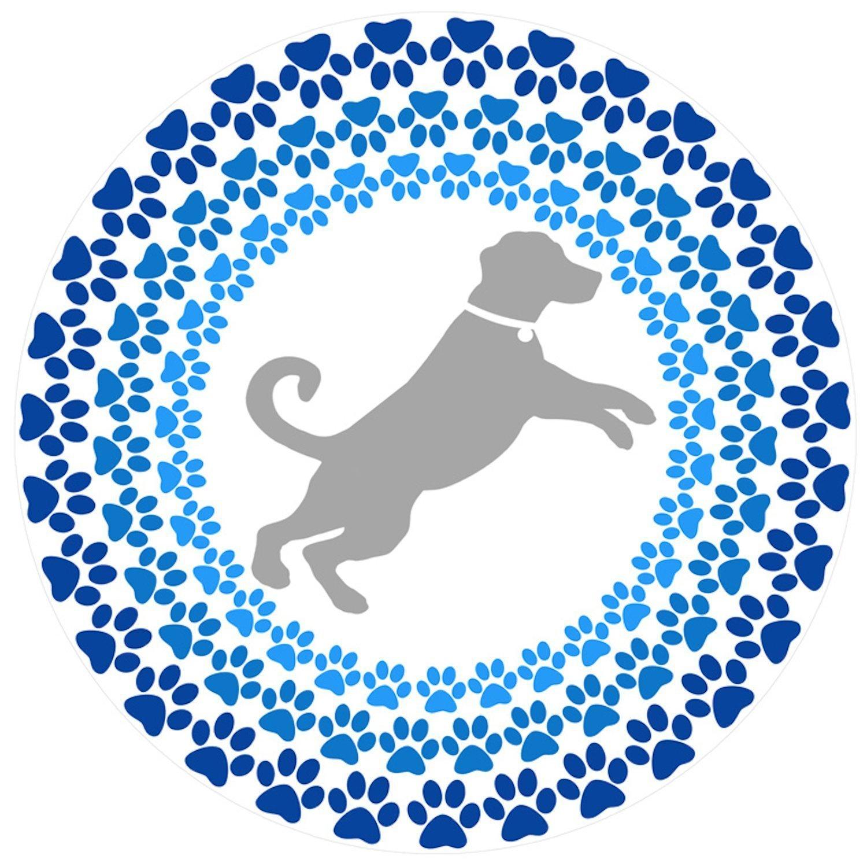 網戸ドアマグネット–ひねってカチッとロック–人やペットが網戸にぶつかるのを防止 COMINHKPR127863 B01M7STORM Dog Mandala Mosaic Dog Mandala Mosaic