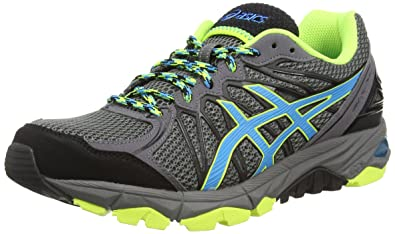 Asics Gel-Fujitrabuco 3, Men's Trail Running Shoes, Charcoal/Atomic BLUE/