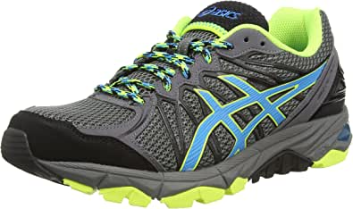 ASICS Gel-Fujitrabuco 3, Zapatillas de Running para Hombre, Marrón (Charcoal/Atomic Blue/Onyx 9748), 41.5 EU: Amazon.es: Zapatos y complementos