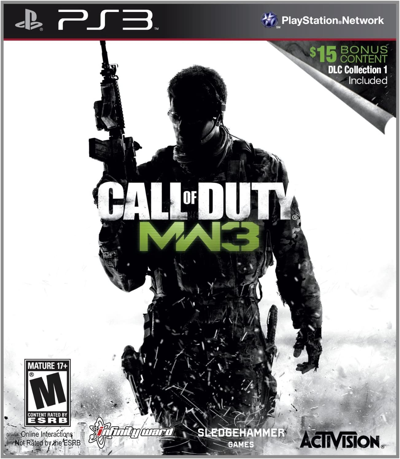 Amazon com: Call of Duty: Modern Warfare 3 with DLC