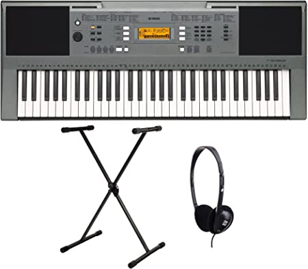 Yamaha PSR-E353 - Set de teclado (con soporte y auriculares ...
