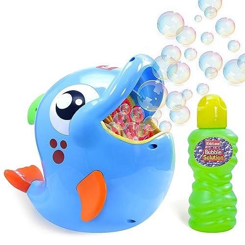 Kidzlane Bubble Machine blue dolphin design