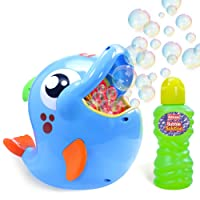 Bubble Machine | Automatic Durable Bubble Blower for Kids | 500 Bubbles per Minute | Simple and Easy to Use