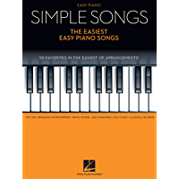 Simple Songs - The Easiest Easy Piano Songs book cover