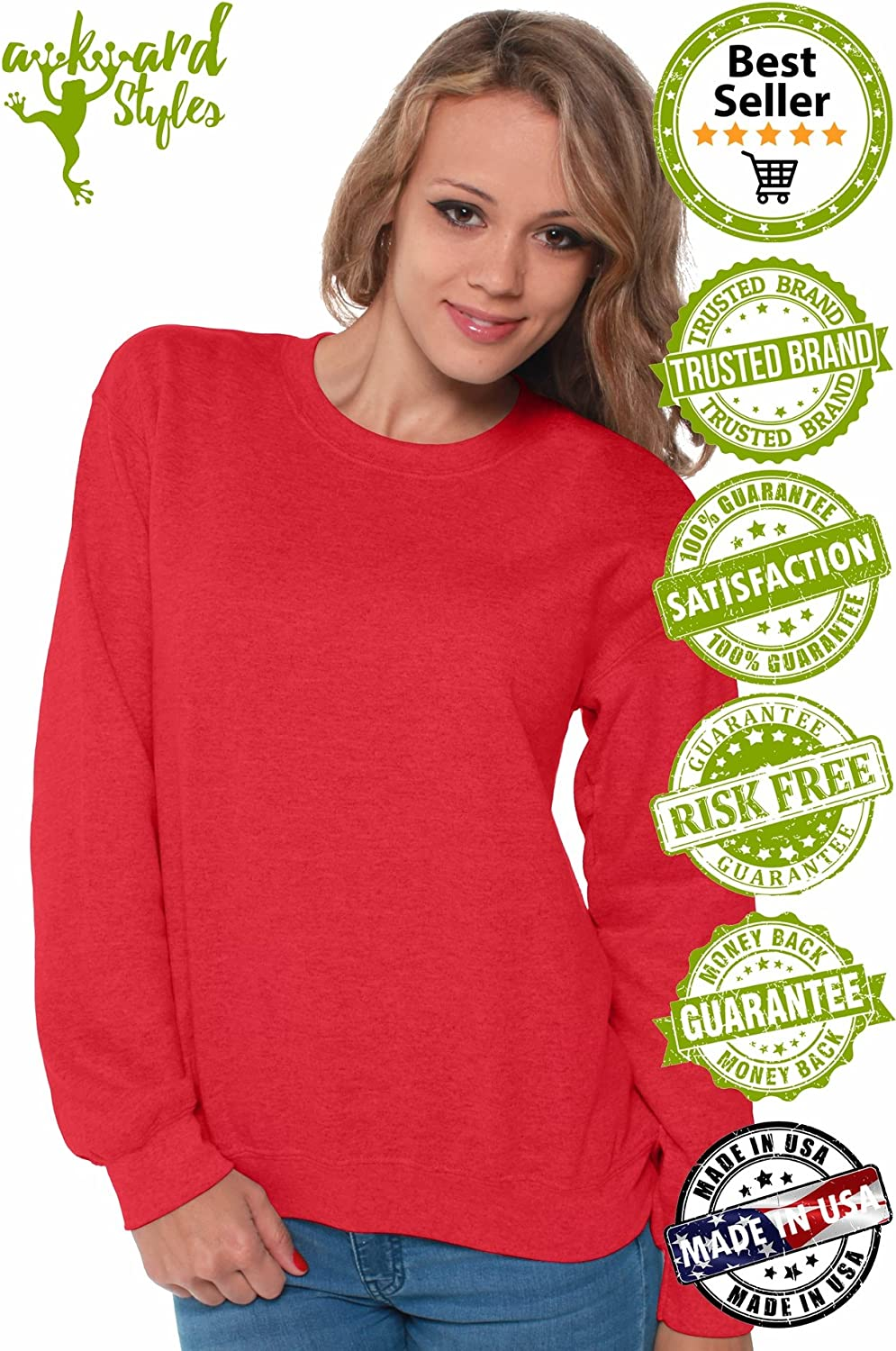 Awkward Styles Autism Sweatshirt for Grandma Autism Awareness Sweater for Support 71RxiU2QKnL