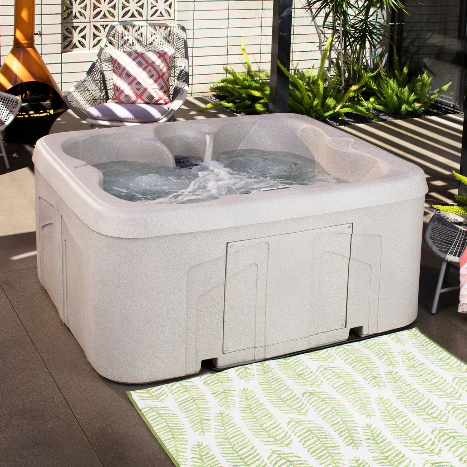 set spa bubble garden portable tub purespa massage patio lawn tubs sale amazon hot dp ca for intex