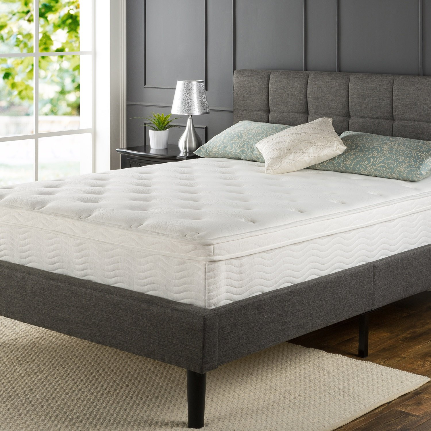 Sleep Master Ultima fort 12″ Euro Box Spring Mattress Review