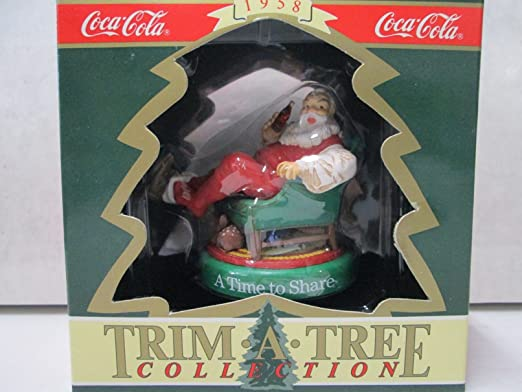 Vintage Coca Cola Trim A Tree Collection Christmas Ornaments Multiple Choices