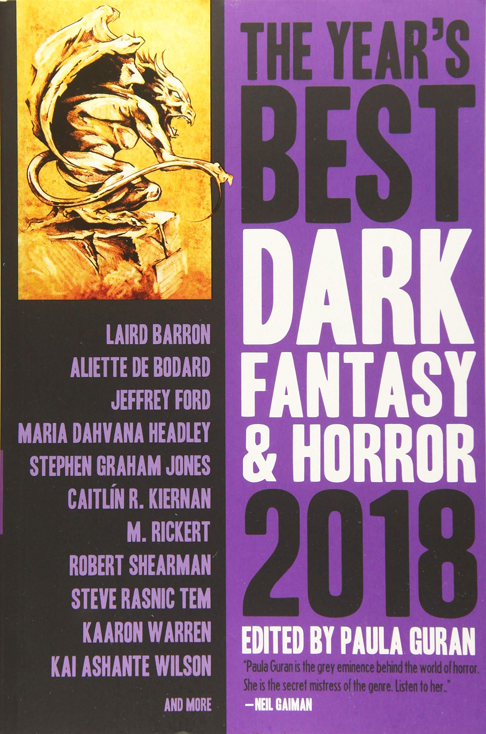 The Year's Best Dark Fantasy & Horror 2018 Edition: Paula