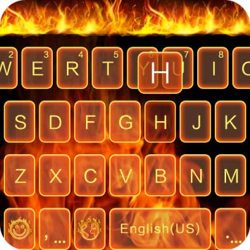 Fire Theme for Kika Keyboard