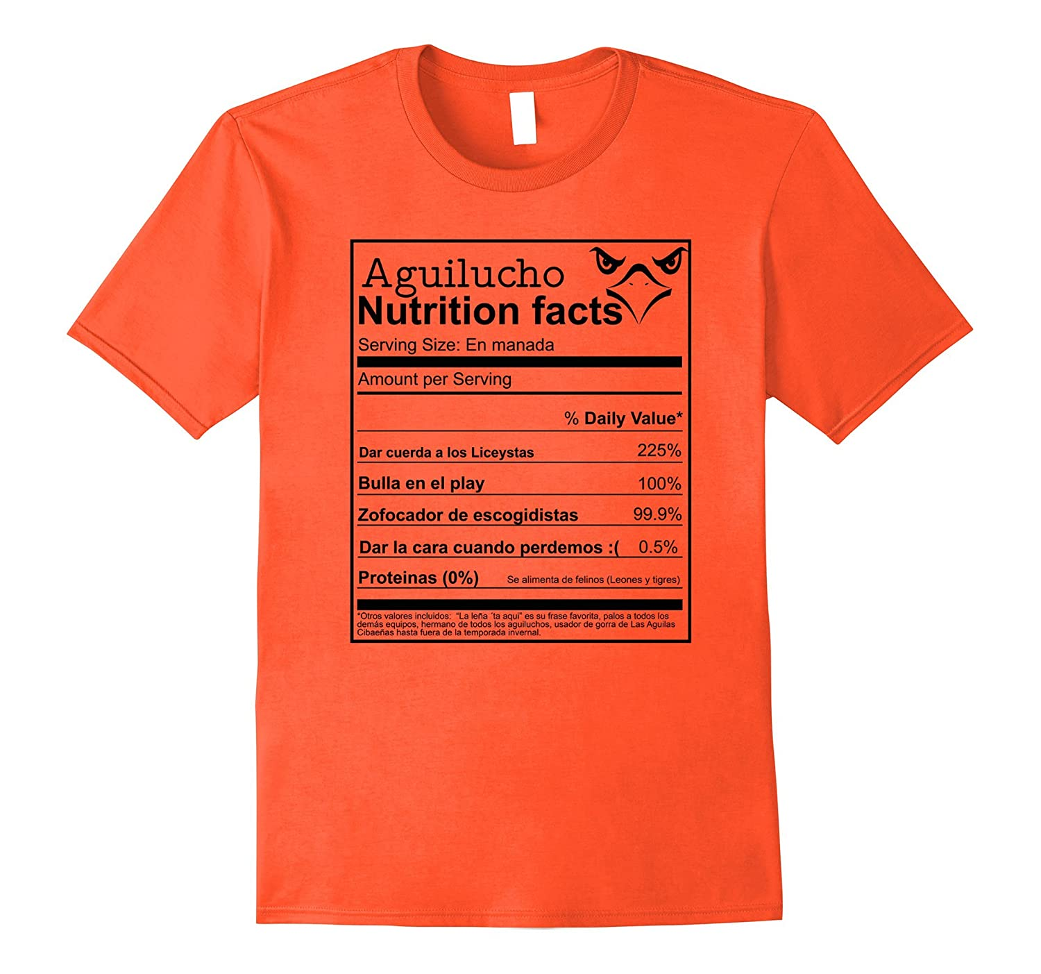 Amazon.com: Aguilucho Nutrition Facts Dominican aguilas ...