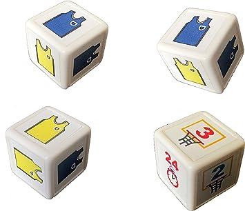 Dados de Baloncesto - juega un partido de Baloncesto con dados - juego de mesa: Amazon.es: Juguetes y juegos