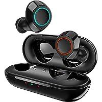 Jecoo Mini Audífonos Inalámbricos Bluetooth 5.0 Auriculares Bluetooth Deportivos Estéreo Reduce el Ruido a Pruebe de…