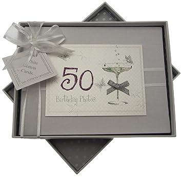 Amazon.com : White Cotton Cards Handmade Small Birthday ...