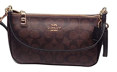 Image Unavailable. Image not available for. Color  Coach Womens Top Handle  Pouch in Signature ... d08965da99