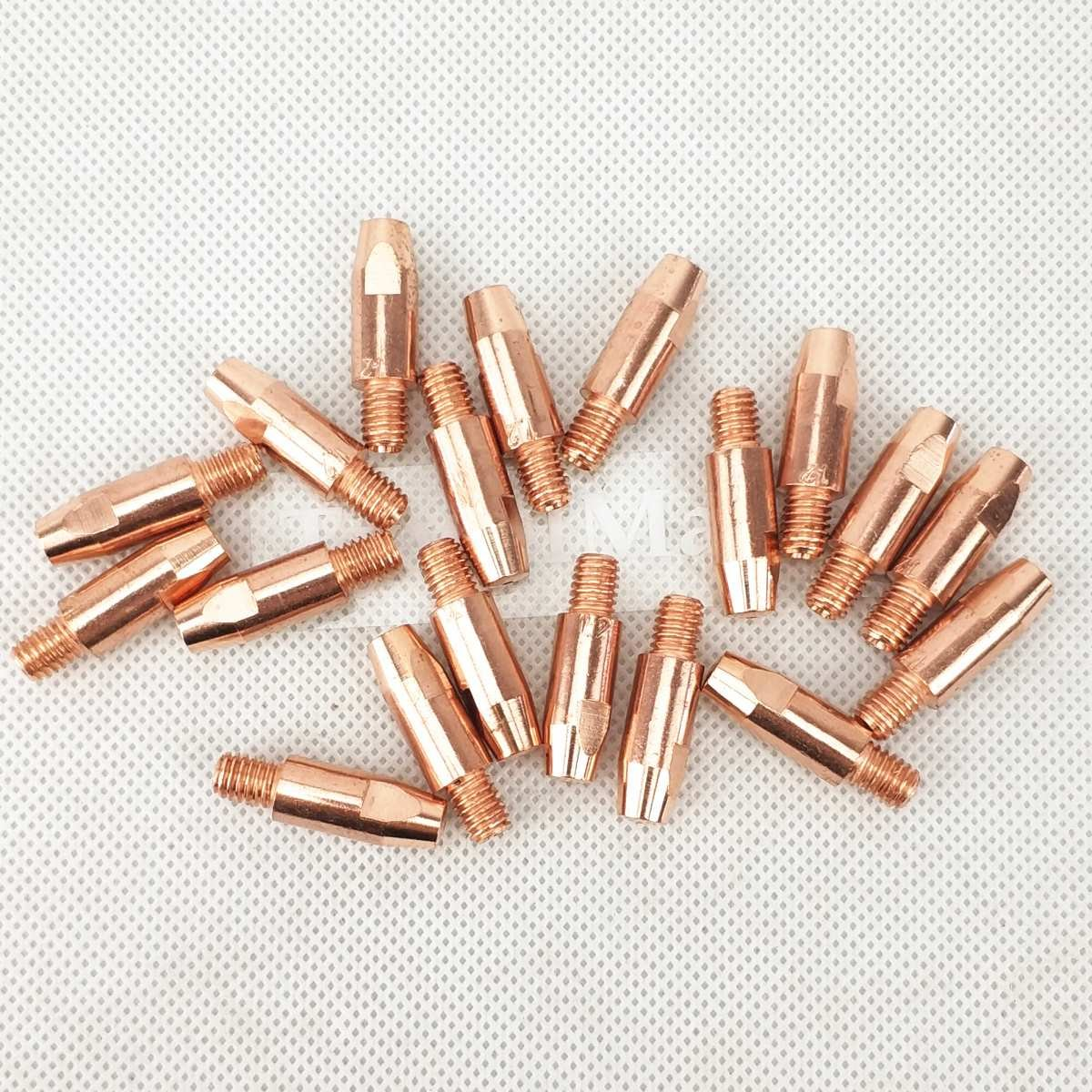 15 AK 24 KD 36 KD boquillas de contacto para el cuello de cisne MIG linterna//pistola consumibles para linternas de soldar estilo europeo MIG MAG