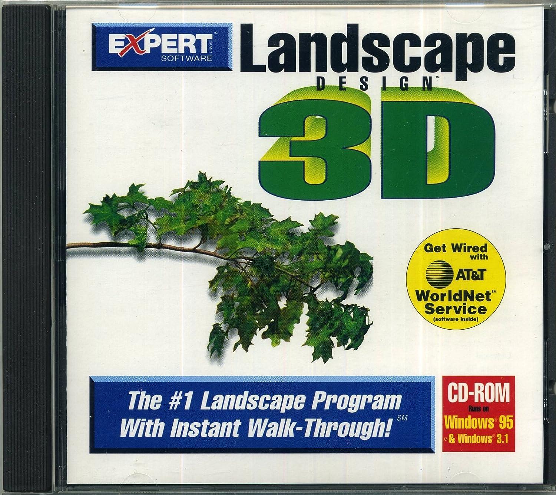 landscape design 3d cd rom by expert software