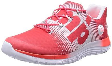 Reebok ZPump Fusion Chaussures de course pour femme-Red-37.5 slqZdN
