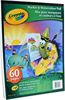 Crayola Marker and Watercolour Pad, School and Craft Supplies, Gift for Boys and Girls, Kids, Ages 3,4, 5, 6 and Up,...
