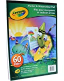 Crayola Marker and Watercolour Pad, School and Craft Supplies, Gift for Boys and Girls, Kids, Ages 3,4, 5, 6 and Up, Stocking , Arts and Crafts,  Gifting