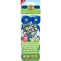 Bags on Board Dog Waste Bags Refill Pack, 9x14 in, 140 bags
