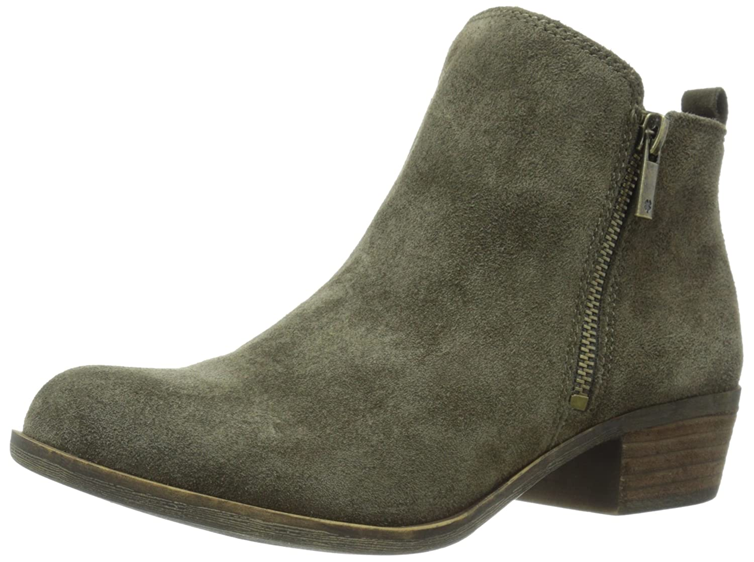Lucky Brand Women's Basel Boot B00UPG5RE8 10 B(M) US|Italian Olive