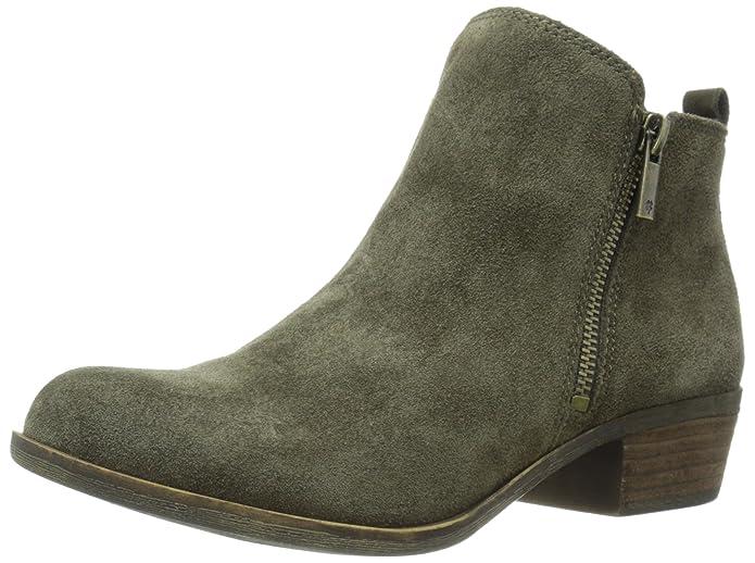 Lucky Brand Women's Basel Boot, Italian Olive, 5.5 B(M) US