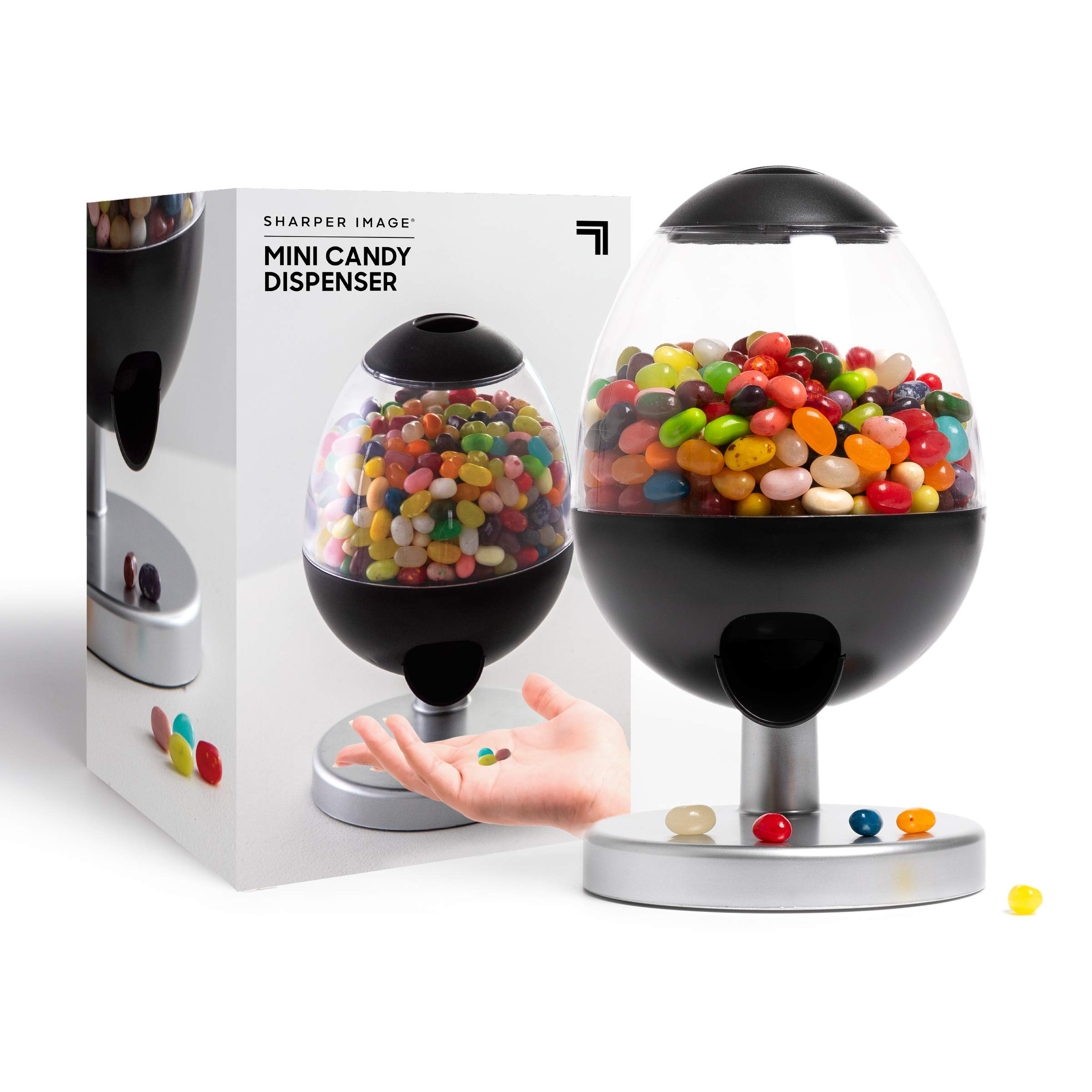 SHARPER IMAGE Mini Automatic Touch-Activated Candy & Snack Dispenser