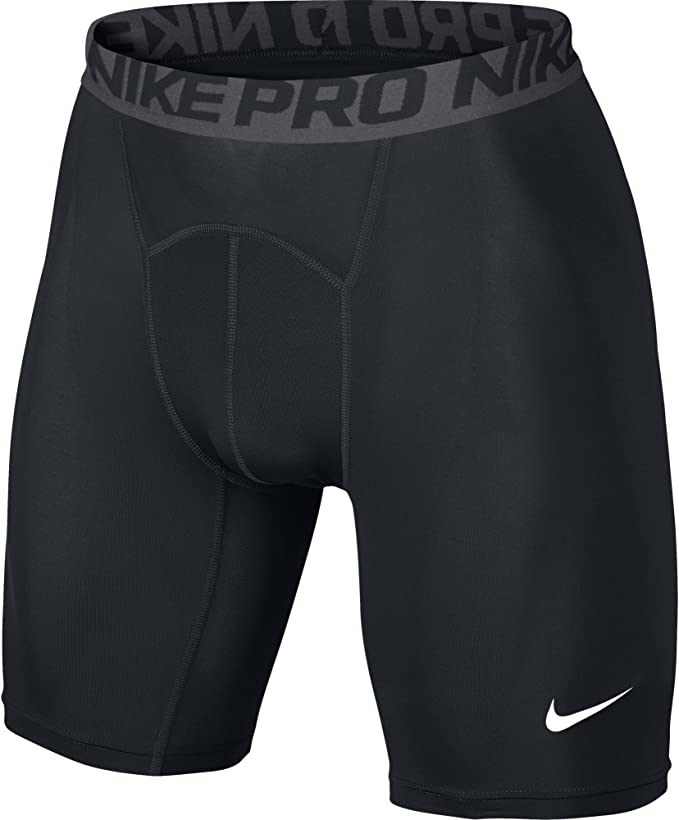 "Nike pro Mens Grey 6/"" compresson fit training shorts underwear size S or L"
