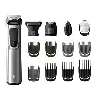 Philips Barbero MG7720/15 - Recortador de barba y precisión 14 en 1 tecnología Dualcut, autonomía de 120 minutos
