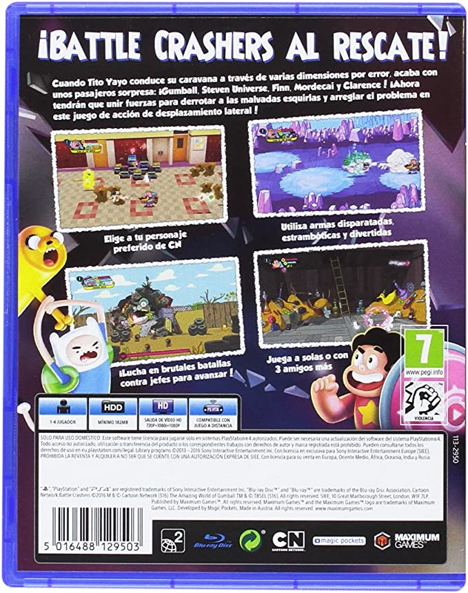 Cartoon Network: Battle Crashers: Amazon.es: Videojuegos