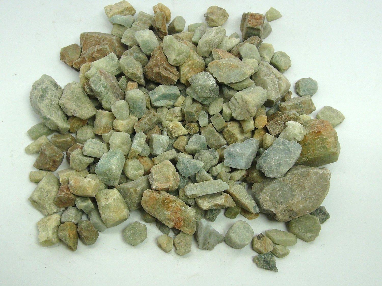 Astro Gallery Of Gems 5 LB LOT OF BERYL AQUAMARINE ROUGH - FROM INDIA