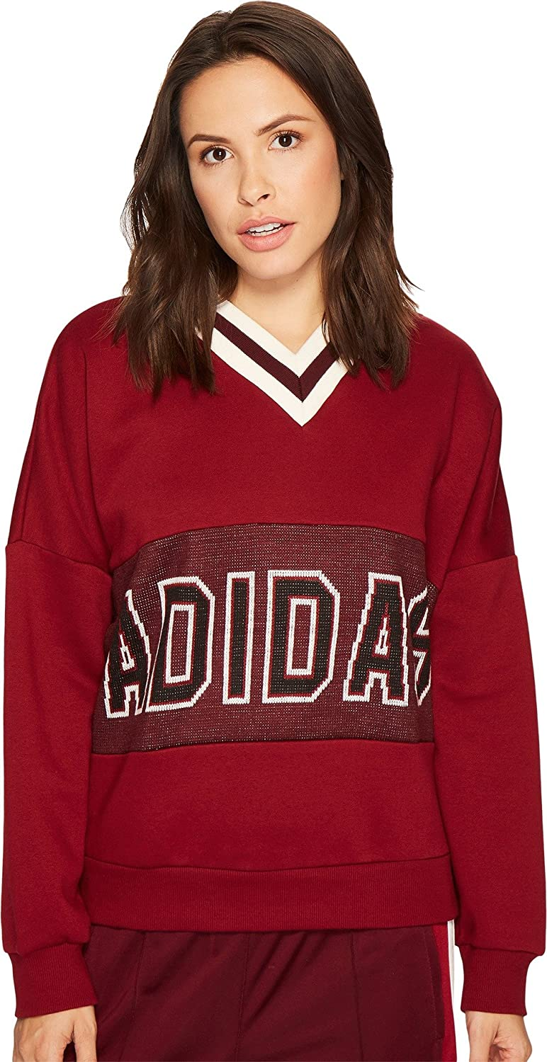 Shop Red adidas Originals adibreak Sweatshirt for Womens by