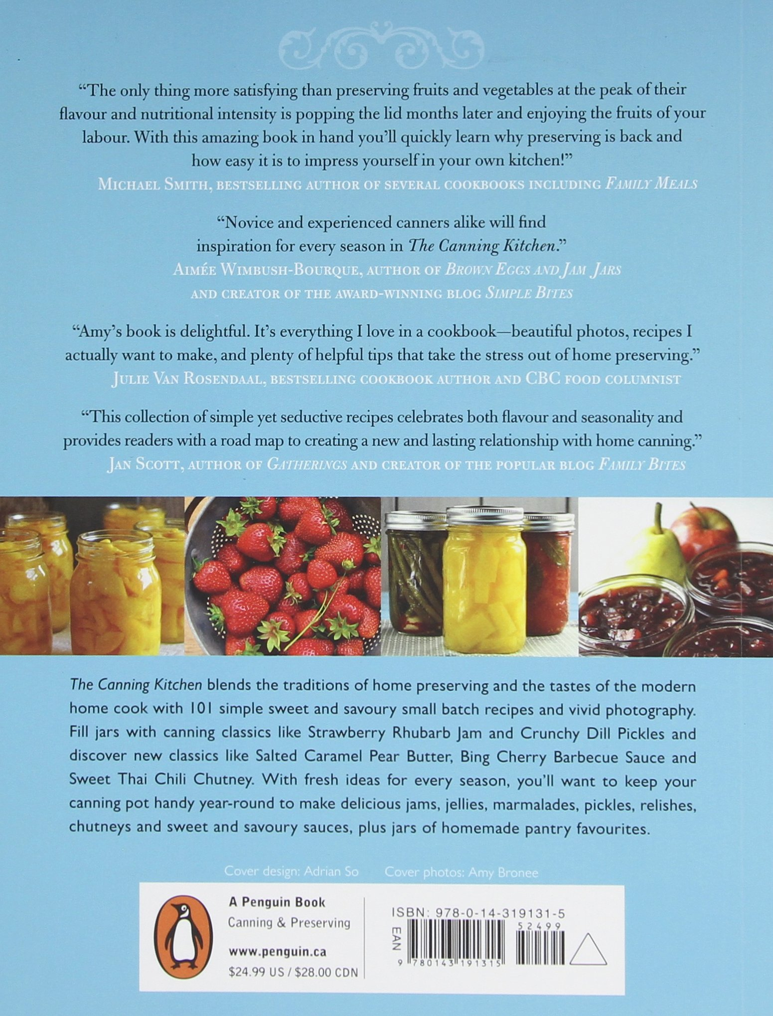 The Canning Kitchen: 101 Simple Small Batch Recipes: Amy Bronee:  9780143191315: Amazon.com: Books Part 71