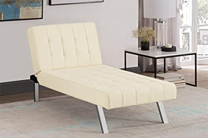 Swell Amazon Com Futon Chaise Lounger Sofa Contemporary Styled Beatyapartments Chair Design Images Beatyapartmentscom