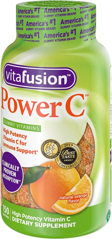 Vitafusion Power C Gummy Vitamins, 150 Count Vitamin C ...