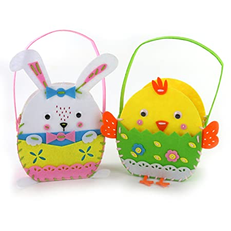 Wewill sewing kit for kid brand 8inch20cm bunnychick diy crafts wewill sewing kit for kid brand 8inch20cm bunnychick diy crafts gifts 2pack felt negle Gallery