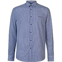 Pierre Cardin. Camisa de manga larga casual para hombre