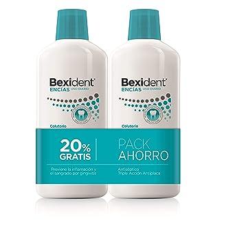 Isdin Bexident Encías Uso Diario Pack ahorro 20% EXTRA Colutorio 500ml+500ml: Amazon.es