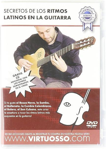 virtuosso Latina Ritmos método para guitarra acústica (curso de ...