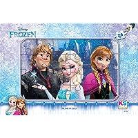 Disney Frozen Frame Yapboz, 24 Parça