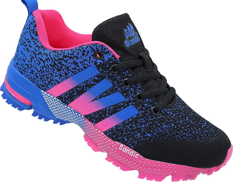 258 - Zapatillas Deportivas para Mujer (Talla 36-41), Color Negro ...